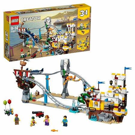 Конструктор LEGO Creator Аттракцион Пиратские горки 31084