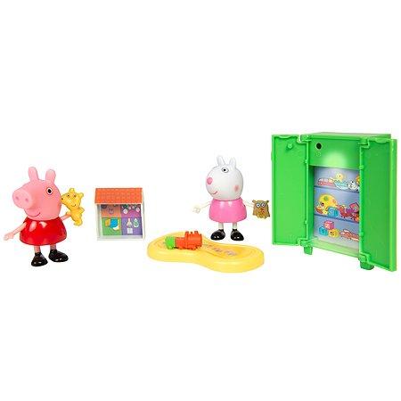 Набор игровой Свинка Пеппа Пеппа и Сьюзи играют в игры 35355