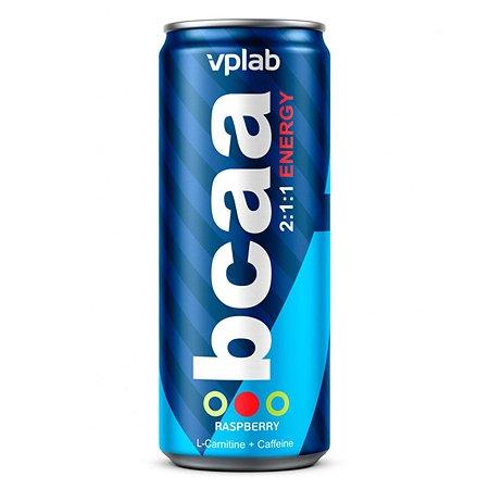 БЦАА VPLAB Energy 2:1:1 малина 330мл