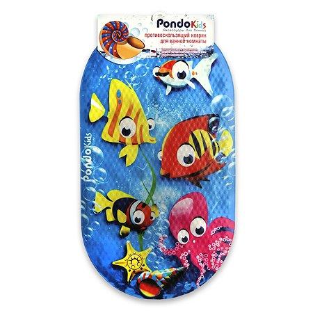 Коврик для ванной Pondo PK-0001 Рыбки