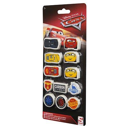 Набор ластиков Sambro Cars 3 12 шт DSC9-697