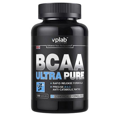 БЦАА VPLAB Ultra Pure 120капсул