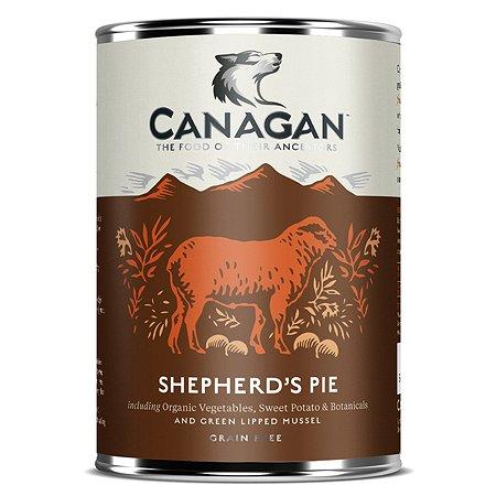 Корм для собак Canagan пастуший пирог консервированный 400г