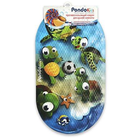 Коврик для ванной Pondo PK-0003 Черепашки