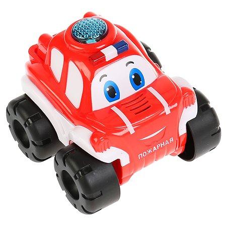 Игрушка УМка Машинка Пожарный Бип-бип музыкальная 297970