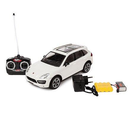Машинка на радиоуправлении Mobicaro Porsche Cayenne 1:16 Белая