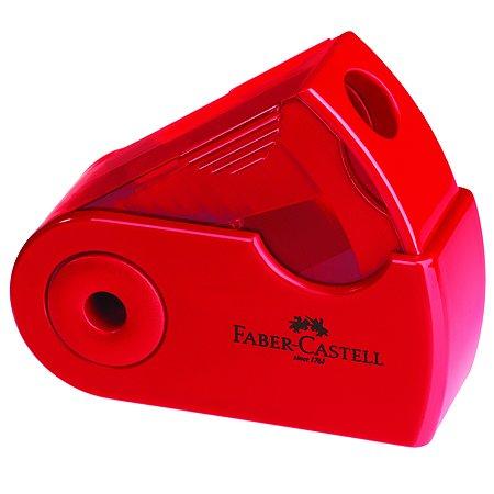 Точилка Faber Castell Sleeve мини Красный-Синий 182711