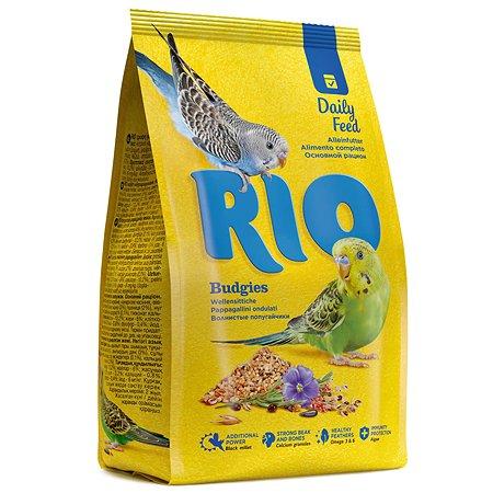 Корм волнистых попугаев RIO основной 500г 20390