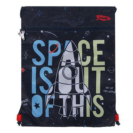 Мешок для обуви Erhaft Космос двойной SHB02-010