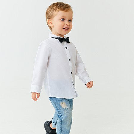Рубашка Baby Go белая