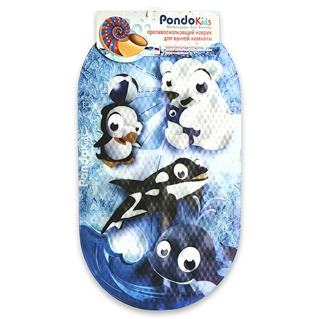 Коврик для ванной Pondo PK-0004 Арктика