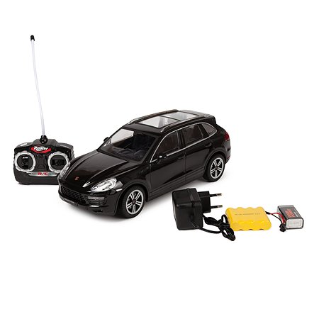 Машинка на радиоуправлении Mobicaro Porsche Cayenne 1:16 Чёрная