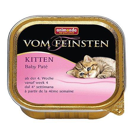 Корм влажный для котят ANIMONDA Carny Kitten Baby пате 200г консервированный