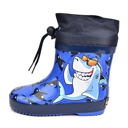 Резиновые сапоги Wappo синие