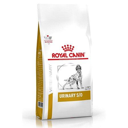 Корм для собак ROYAL CANIN Veterinary Diet Urinary S/O LP 18 при заболеваниях дистального отдела мочевыделительной системы 2кг