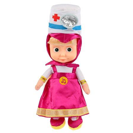 Игрушка мягкая Мульти-Пульти Маша и Медведь Маша в шапочке доктора 279179