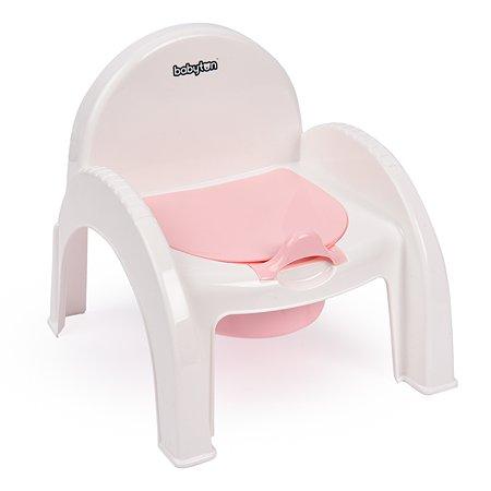 Горшок Babyton Розовый 17-0005-Р