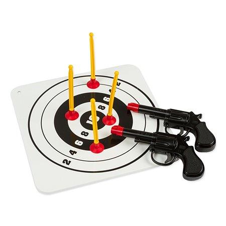 Пистолеты 2 шт Bauer с мишенью Спецагент (в пакете)