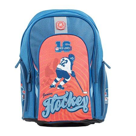 Рюкзак школьный Mag Taller Cosmo Hockey(синий)
