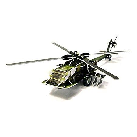 3D пазл заводной UF Вертолет