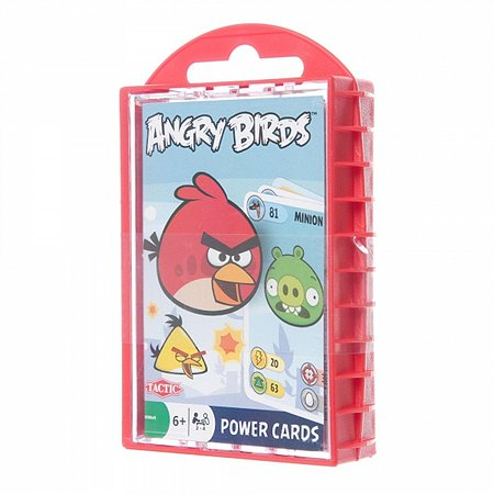 Игра с карточками Tactic Games ANGRY BIRDS