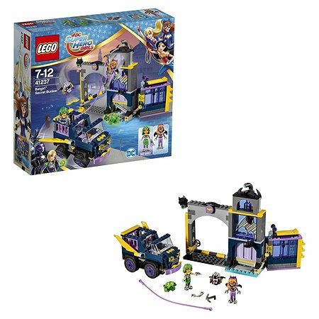 Конструктор LEGO DC Super Hero Girls Секретный бункер Бэтгёрл (41237)