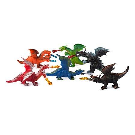 Игровой набор Attivio с драконами 6 шт
