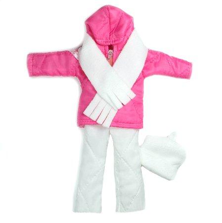 Набор одежды для кукол Модница 4предмета в ассортименте 1404