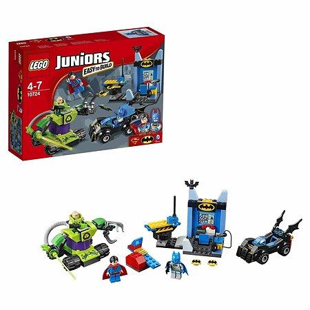 Конструктор LEGO Juniors Бэтмен и Супермен против Лекса Лютора (10724)