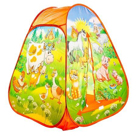 Палатка Играем вместе Веселая ферма