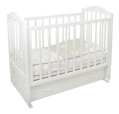 Кровать детская Фея 660 цвет белый
