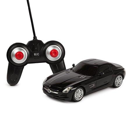 Машинка радиоуправляемая Mobicaro Mercedes-Benz SLS 1:24 Черная