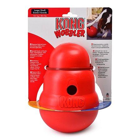 Игрушка для собак KONG Wobbler крупных пород интерактивная PW1E