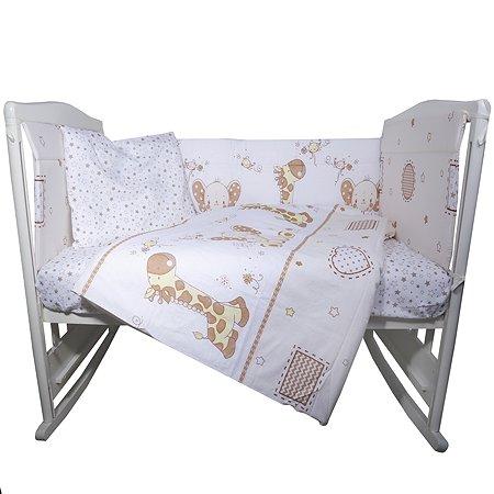 Комплект постельного белья Babyton Сафари 6 предметов 10619