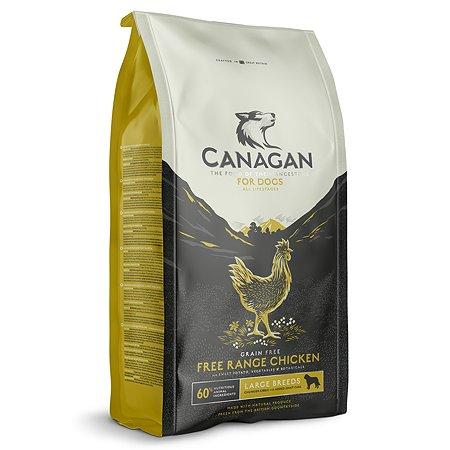 Корм для собак Canagan Free-Run крупных пород цыпленок 12кг