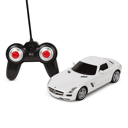 Машинка радиоуправляемая Mobicaro Mercedes-Benz SLS 1:24 Белая