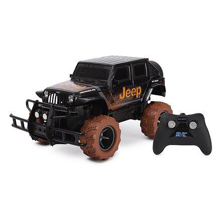 Машина New Bright РУ Jeep Mud Trucks Черный 1423L