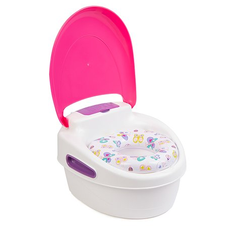 Горшок Summer Infant Step-By-Step Potty 3в1 Розовый