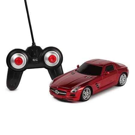 Машинка радиоуправляемая Mobicaro Mercedes-Benz SLS 1:24 Красная