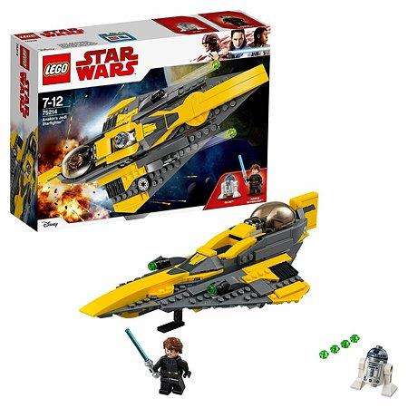 Конструктор LEGO Star Wars Звёздный истребитель Энакина 75214