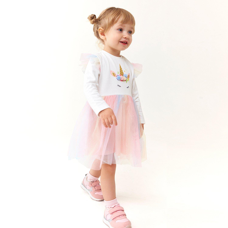 Платье BabyGo белое