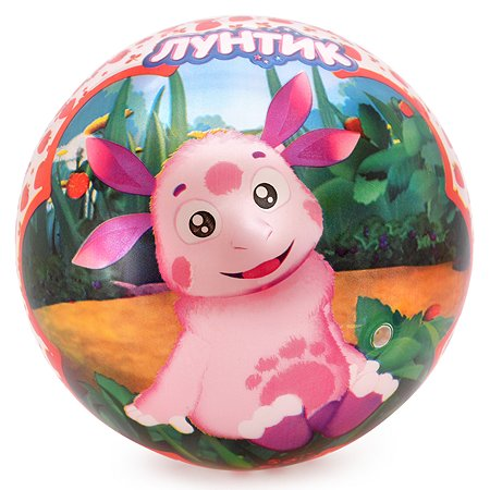 Мяч ЯиГрушка Лунтик Красный 59545ЯиГ