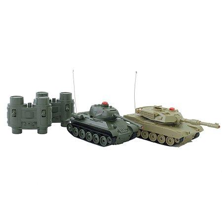 Набор игровой HK Industries РУ 1:32 Танковый бой T-34-M1A2 33821
