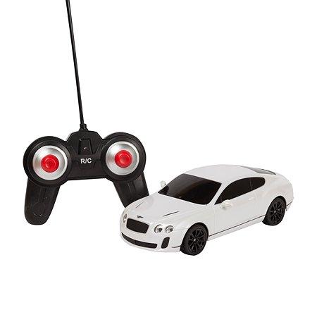 Машинка на радиоуправлении Mobicaro Bentley GTSupersport 1:24 Белая