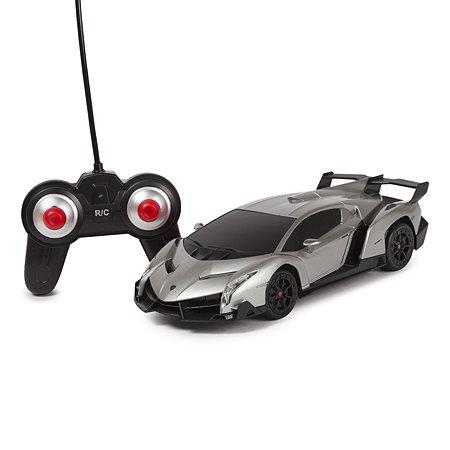 Машинка радиоуправляемая Mobicaro Lamborghini Veneno 1:24 Серебряная