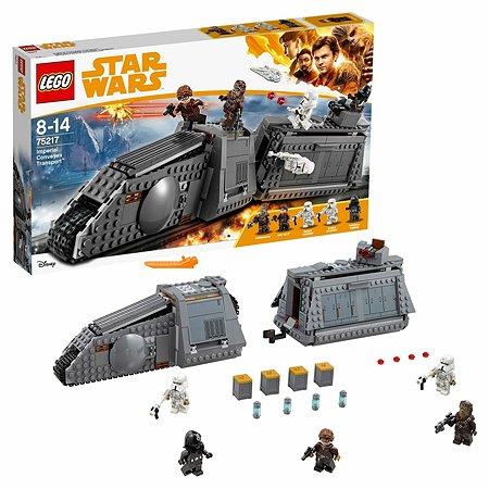 Конструктор LEGO Star Wars Имперский транспорт 75217
