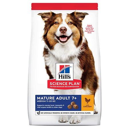 Корм для собак HILLS Science Plan ActiveLongevity для мелкихи средних пород старше 7 лет с курицей сух12кг