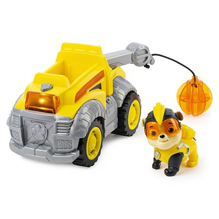 Машинка Щенячий патруль Мега щенки с Крепышом 6054650