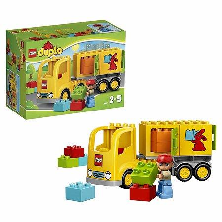 Конструктор LEGO DUPLO Town Желтый грузовик (10601)