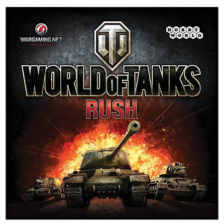 Игра Hobby World World of Tanks Rush (2-е рус. изд.)